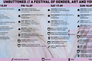 Unbuttoned A Festival Of Gender